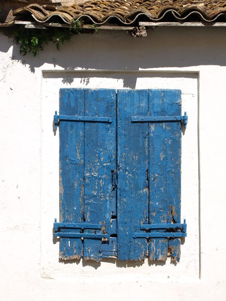 Griekse luikjes in het foto album Corfu
