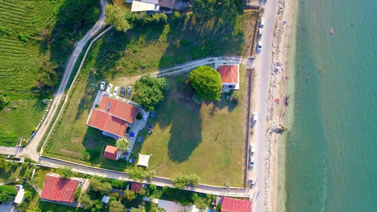 Kleinschalige appartementen aan zee op Corfu