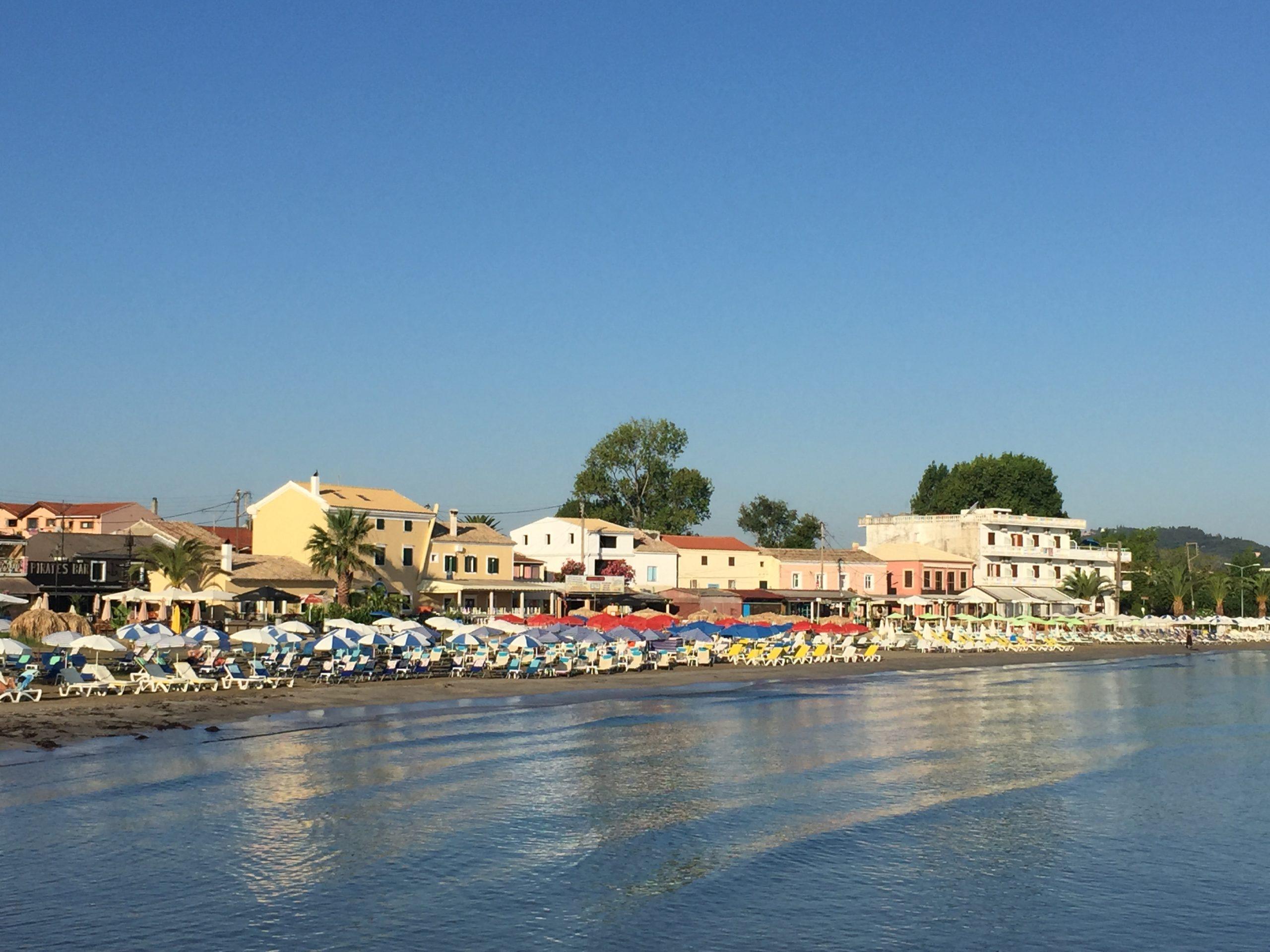 Dorp Roda op Corfu